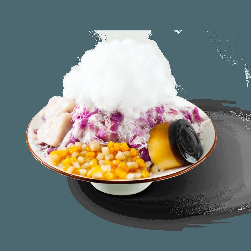 紫薯芋泥雪花冰-清凉冰品